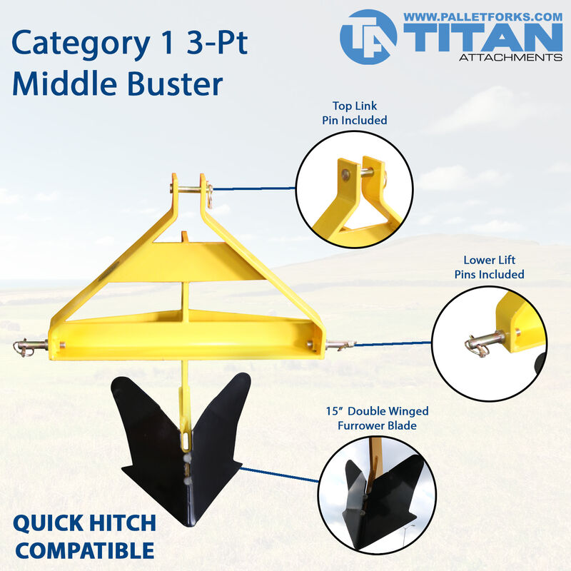 3-Point Middle Buster | Category 1