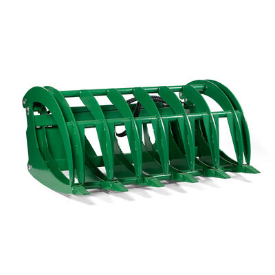 Titan HD Root Grapple Rake Attachment Fits John Deere Global Euro