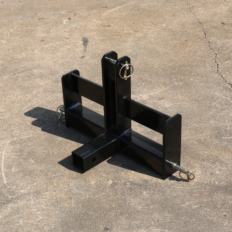 """Tractor Drawbar with Suitcase Weight Brackets   2"""" Receiver   CAT 0 3-Point"""
