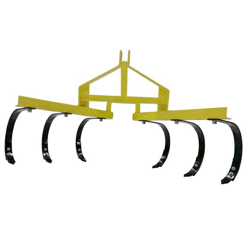 3PT Cultivator w/ 6 Spring Steel Shanks
