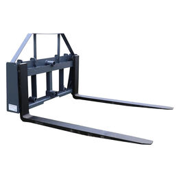 """UA 42"""" Pallet Fork Frame Attachment with Headache Rack and Hitch   Made in USA"""