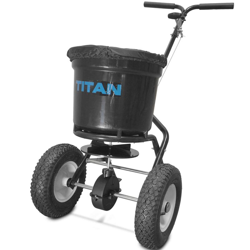 50 lb Professional Broadcast Spreader