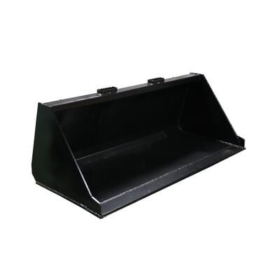 "60"" Skid Steer Bucket Attachment 1/8"" Thick 