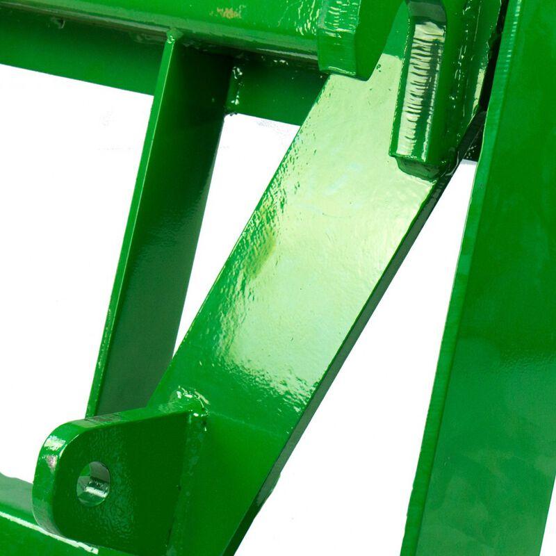 "48"" Pallet Fork Attachment fits John Deere Global Euro Loaders"