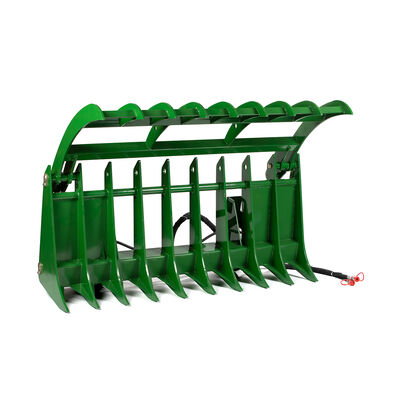 72-in Root Grapple Rake Attachment Fits John Deere Loaders