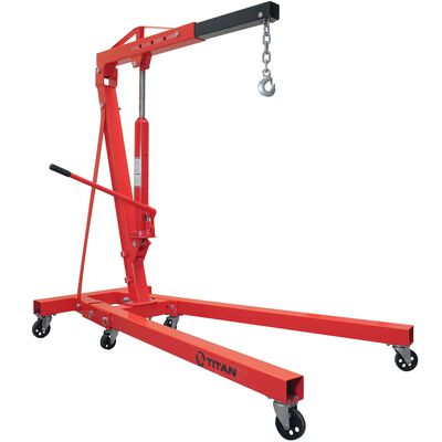 1 Ton Adjustable Shop Crane Lift