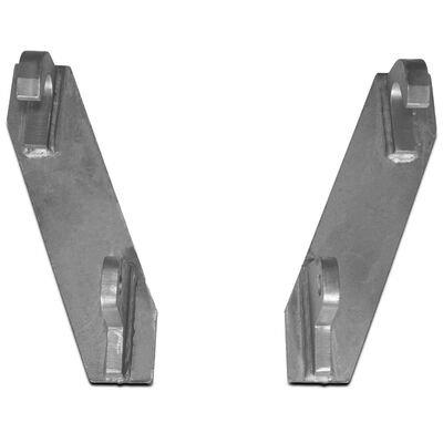 Mounting Brackets made to fit John Deere Global Euro loaders