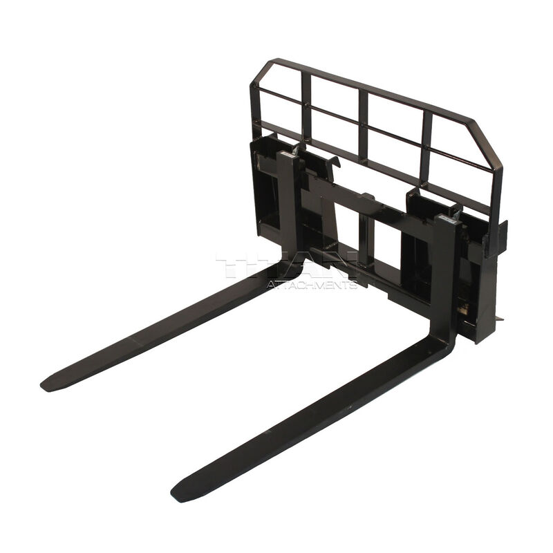 Titan 36-in HD Pallet Fork Attachment 5,500 lb Capacity Hay Bale Spear