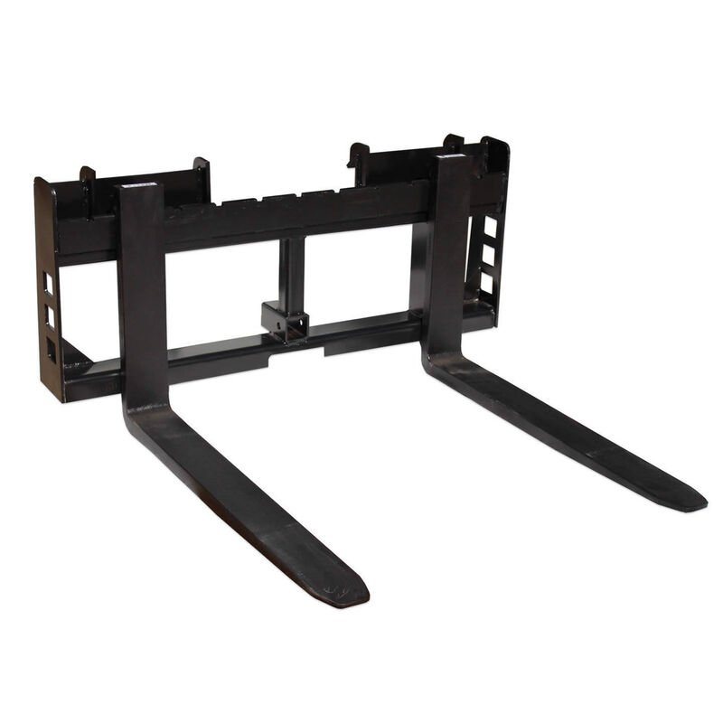 Pallet Fork Attachment with 2-in Trailer Receiver Hitch