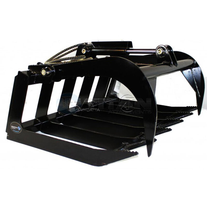 """48"""" Grapple Bucket Attachment for Skid Steer"""