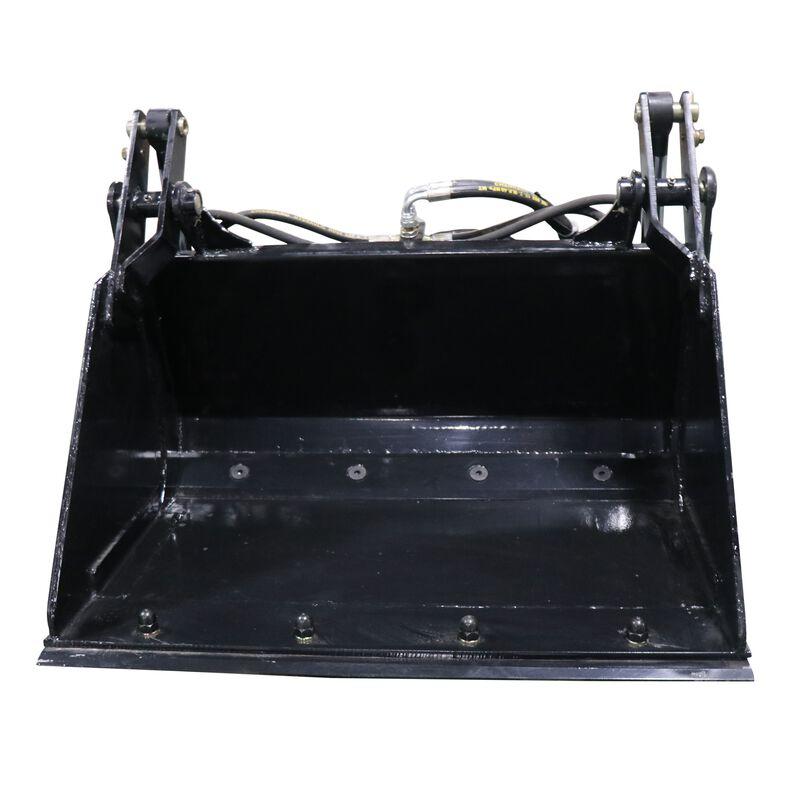 "35"" 4-In-1 Combo Mini Skid Steer Bucket w/ Cutting Edge | V2"