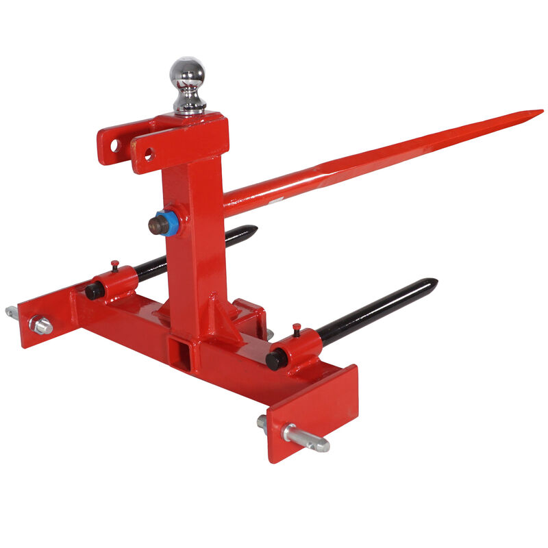"""Three Point 49"""" Hay Attachment Gooseneck Tractor Trailer Hitch"""