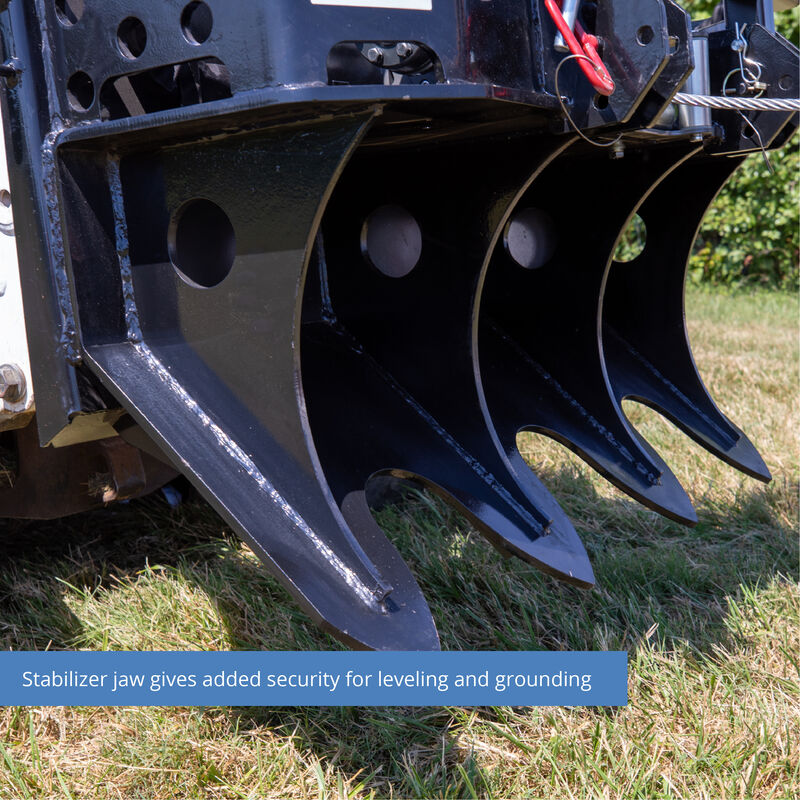 7.5 Ton Skid Steer Logging Winch