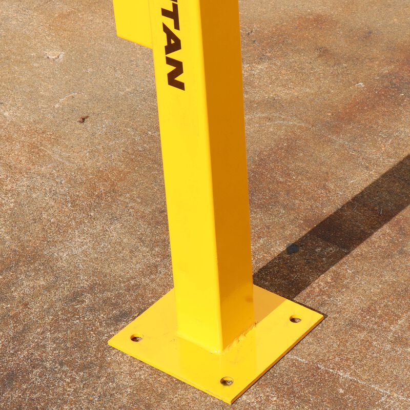 End-Post for Modular Rail Guard System