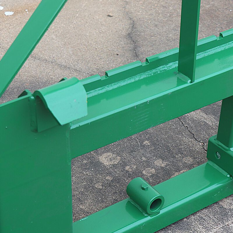 "Pallet Fork Frame | Fits John Deere | 2"" Hitch | Spear Sleeves | Headache Rack"