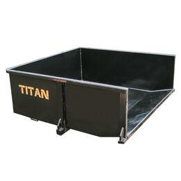30 Cu. FT Quick Hitch Hydraulic Dump Box, Category 1, 3 Point