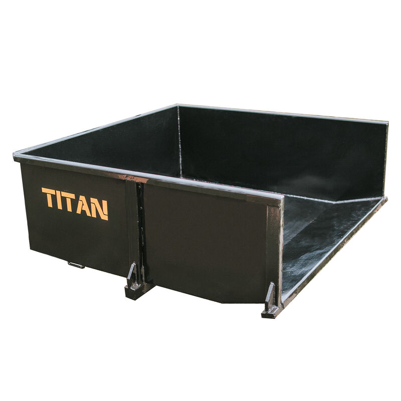 Category 1 3-Pt. Hitch Hydraulic Dump Box 30 Cu. Ft. | Quick Hitch Compatible
