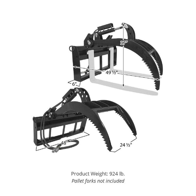 Titan Pallet Fork Grapple V2 (NO FORKS)