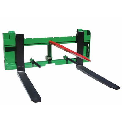 "36"" Pallet Fork Hay Bale Spear Attachment w/ Trailer Hitch fits John Deere"