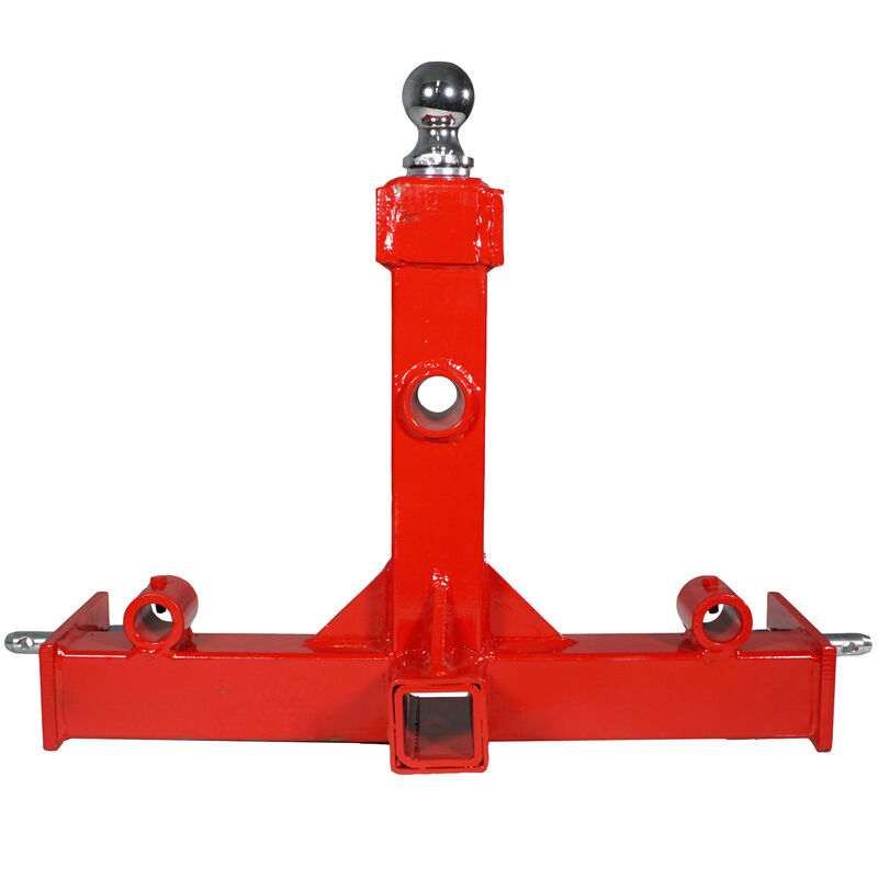 Tractor Trailer Hitch Gooseneck Receiver 3 Point Hay Attachment