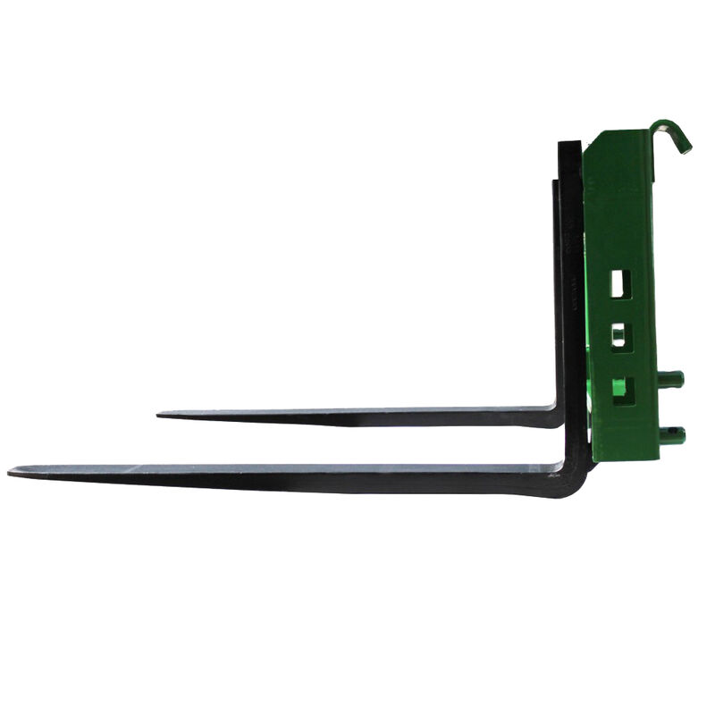 "36"" Pallet Fork Attachment with 2"" Trailer Receiver Hitch fits John Deere Loader"
