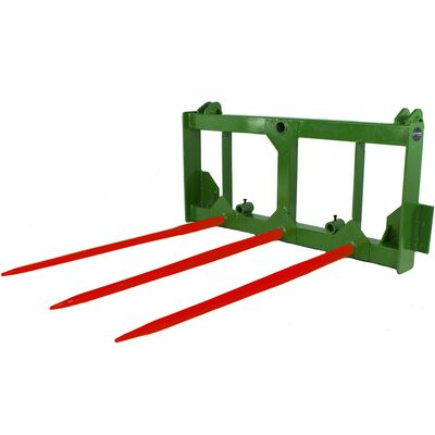 Hay Spear Frame w/ Bale Spears & Stabilizers fits John Deere