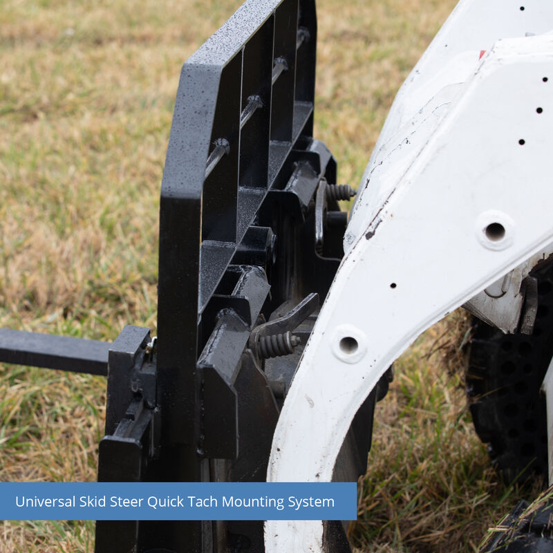 Titan XL Pallet Fork Frame Attachment with Forks – Quick Tach Tractor