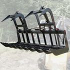 "72"" Econo Grapple Bucket Skid Steer Front End Loader"
