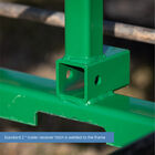 Titan 50-in Pallet Fork Frame Attachment with Receiver Hitch and 42-in Fork Blades – Fits John Deere Loader