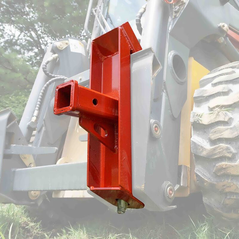 Trailer Hitch Receiver Skid Steer Quick Tach Towing Adapter for 2