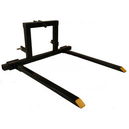 3 Point Pallet Fork Attachment Category 1 tractor carryall