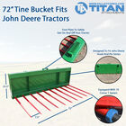 "72"" Tine Bucket With 49"" Spears 