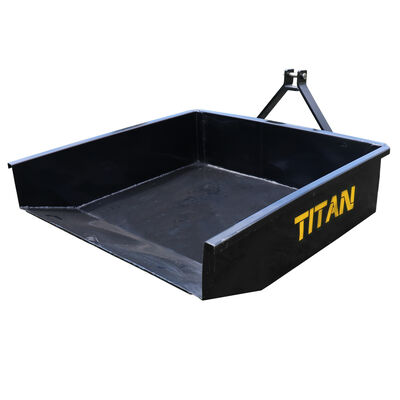 Category 1 3-Pt. Hitch Hydraulic Dump Box | 10 Cu. Ft.