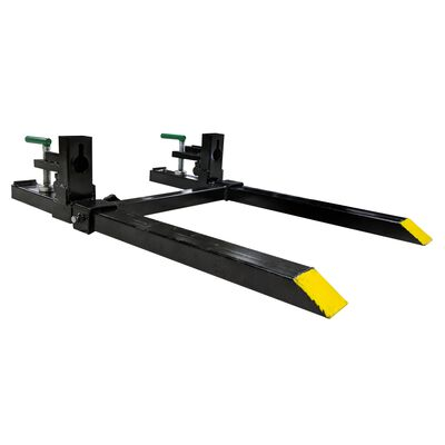 30-in Clamp on Pallet Fork With Stabilizer Bar