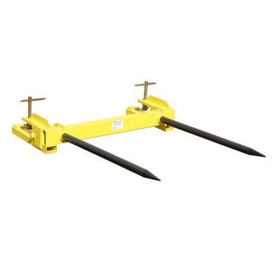 Clamp on Hay Spear Attachment   Dual Spear