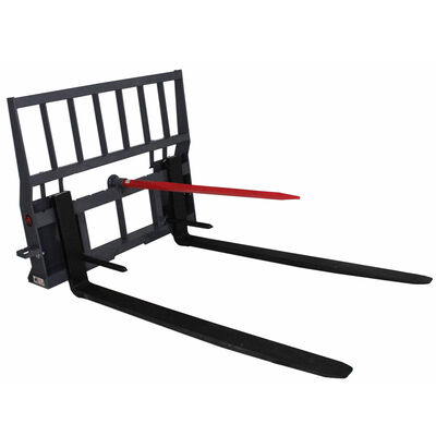 """UA Made in the USA 60"""" Skid Steer Pallet Fork Attachment with Spears"""