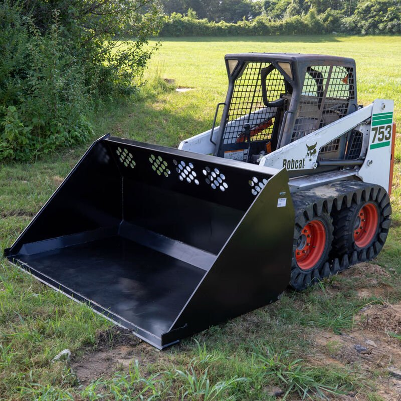 84-in High Capacity Skid Steer Bucket