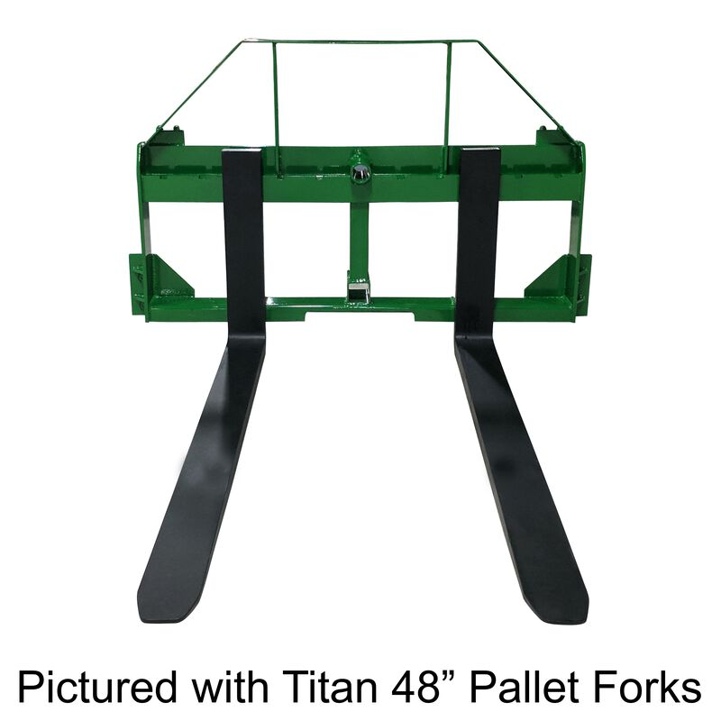 "UA Made in the USA 60"" Fork Frame w/ Receiver, Spear Sleeves, and Headache Rack"
