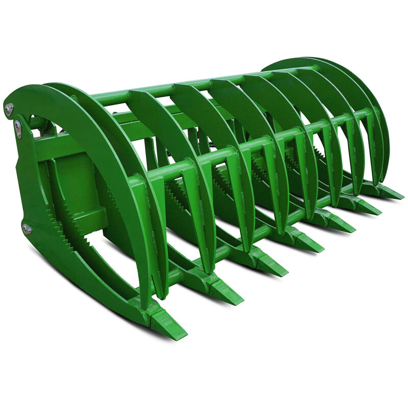 "84"" HD Root Grapple Rake Attachment fits John Deere Loaders"