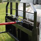 """HD Pallet Fork Attachment, 49"""" Hay Spear and Stabilizers"""