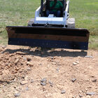 """SCRATCH AND DENT - Manual Rotating 94"""" Skid Steer Dozer Blade Snow Pusher - FINAL SALE"""