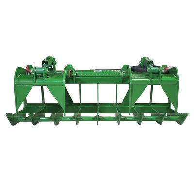 72-in Root Grapple Bucket Attachment Fits John Deere Global Euro Loaders