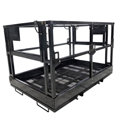 4'x6' Telehandler Work Platform Man Basket