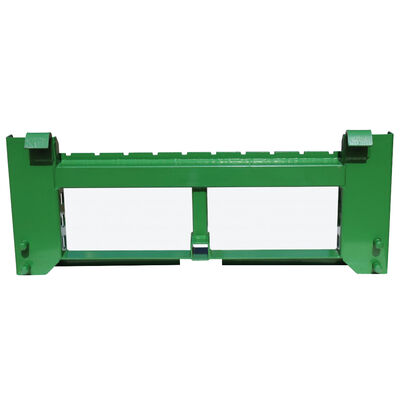 """SCRATCH AND DENT - UA Made In The USA Pallet Fork Frame w/ 2"""" receiver Trailer Hitch Fits John Deere - FINAL SALE"""
