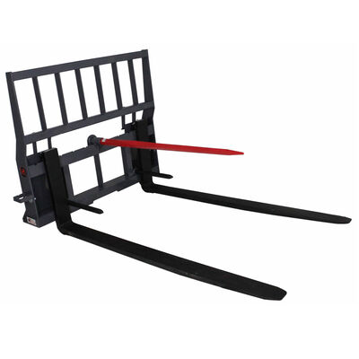 """United Attachments Hay Bale Spear Pallet Fork w/ 42"""" Blades"""