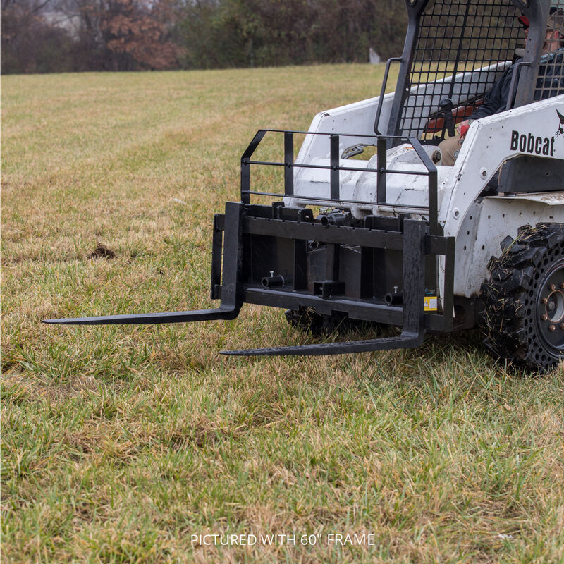 Titan 72-in XL Pallet Fork Frame Attachment, 5,500 LB Capacity – Quick Tach Tractor