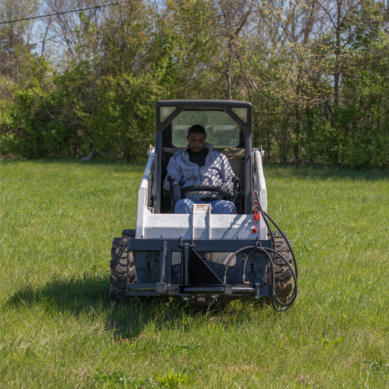 Post And Tree Puller For Skid Steers, Universal Landscape Tool