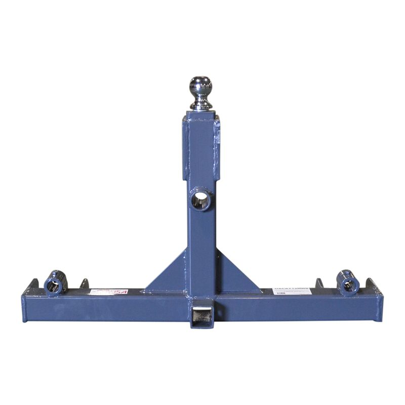 3 Point Gooseneck Trailer Hitch Receiver and Hay Attachment | Cat 1 & 2