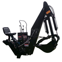 6 FT and 7 FT, 3 Point Backhoe Excavator with Hydraulic Thumb