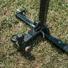SCRATCH AND DENT - 3 Point Tractor Drawbar Trailer Hitch Receiver Attachment Category 1 | Black - FINAL SALE